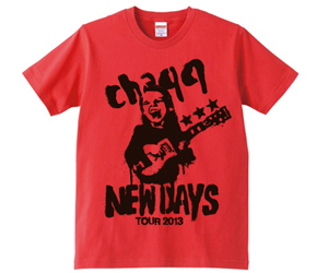 NEWDAYS TEE / RED