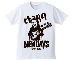 NEWDAYS TEE / WHITE