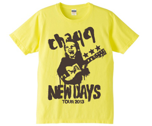 NEWDAYS TEE / LIGHT YELLOW